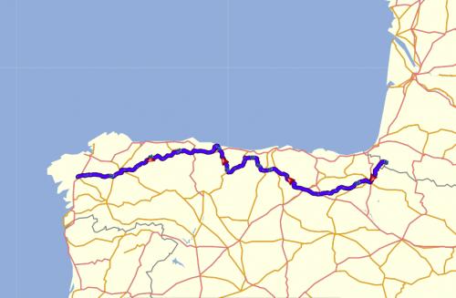 Best Motorcycle Tours Of Europe 3 Camino de Santiago