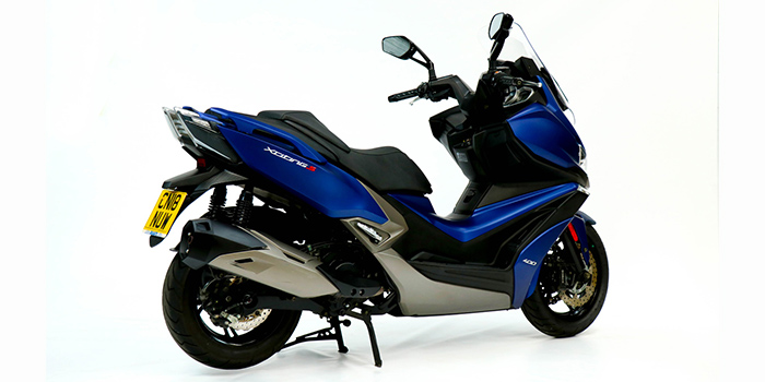 Kymco Xciting S 400i Maxi Scooter review - road test 9