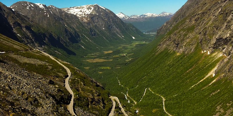 The Trolls Road Norway