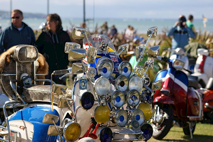 Mod Scooter Isle of Wight 2011